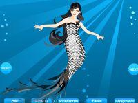 Meerjungfrau Kleidung Anziehen